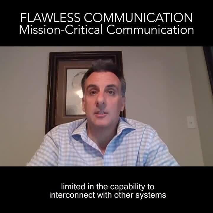 Flawless communication - Mission-critical communication Dahlit & Jimmy FINAL