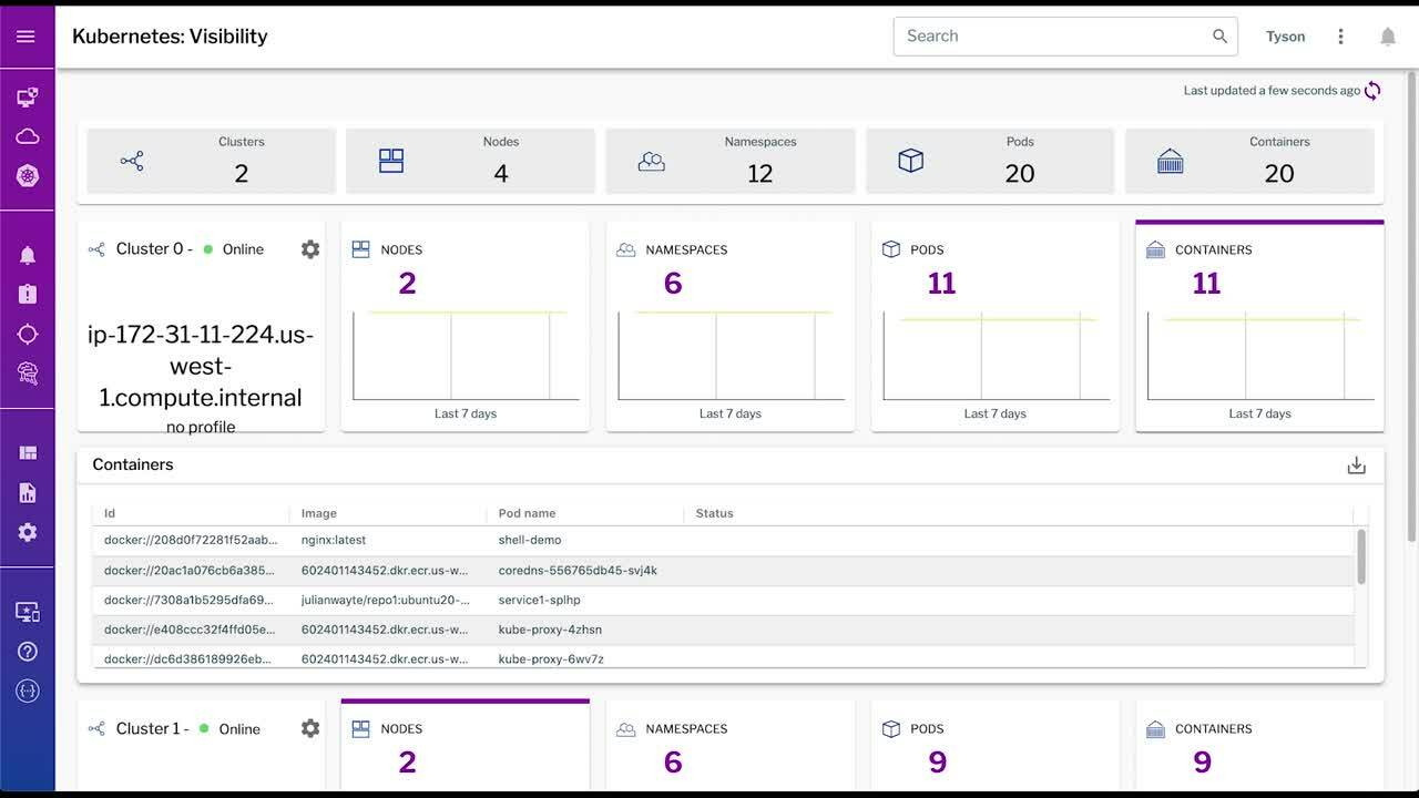 Container Security Overview Demo June 2021