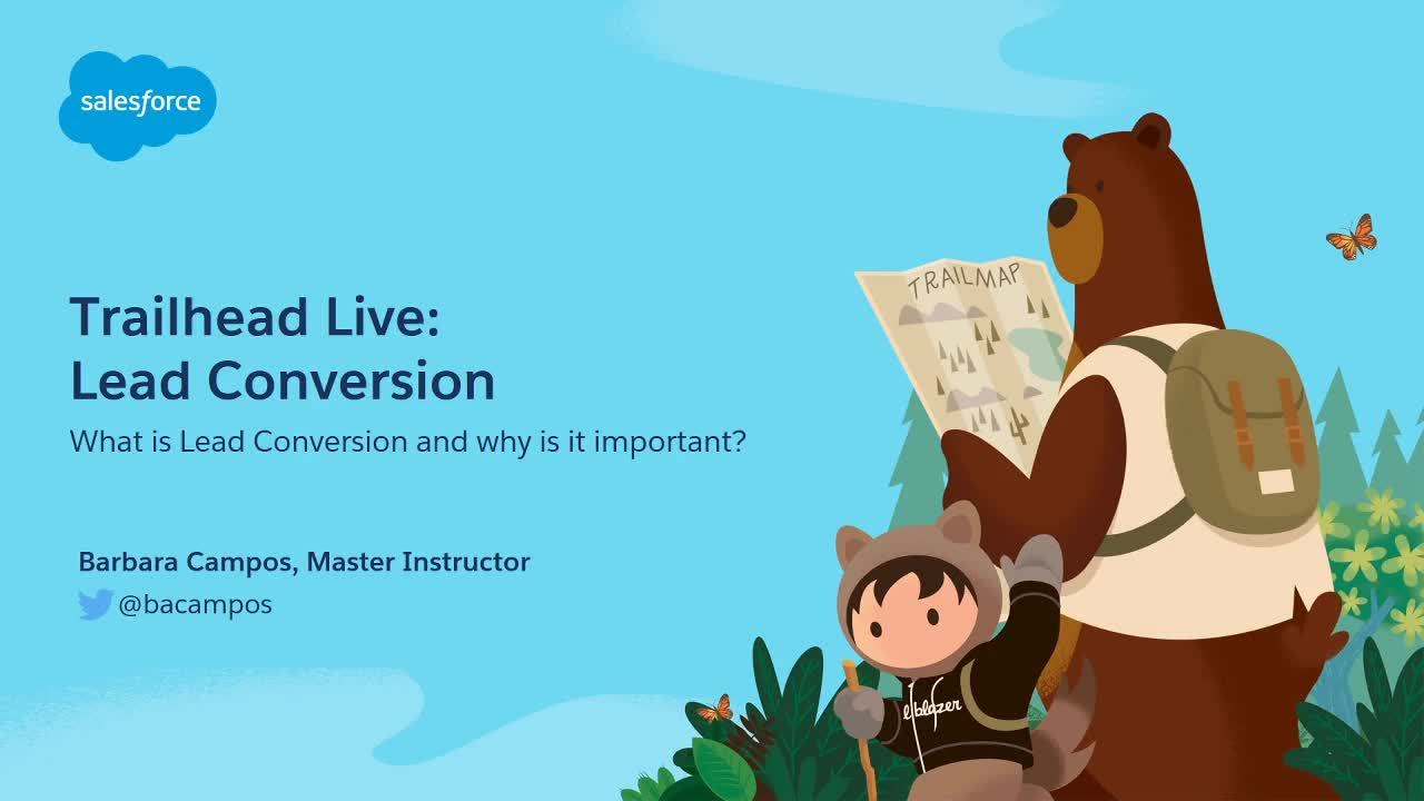 Video: Preparing for Your Admin Certification: Lead Conversion