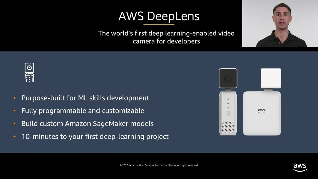 Image classification with AWS DeepLens