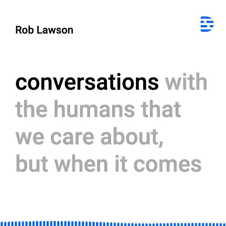 Rob Lawson Nobody makes calls