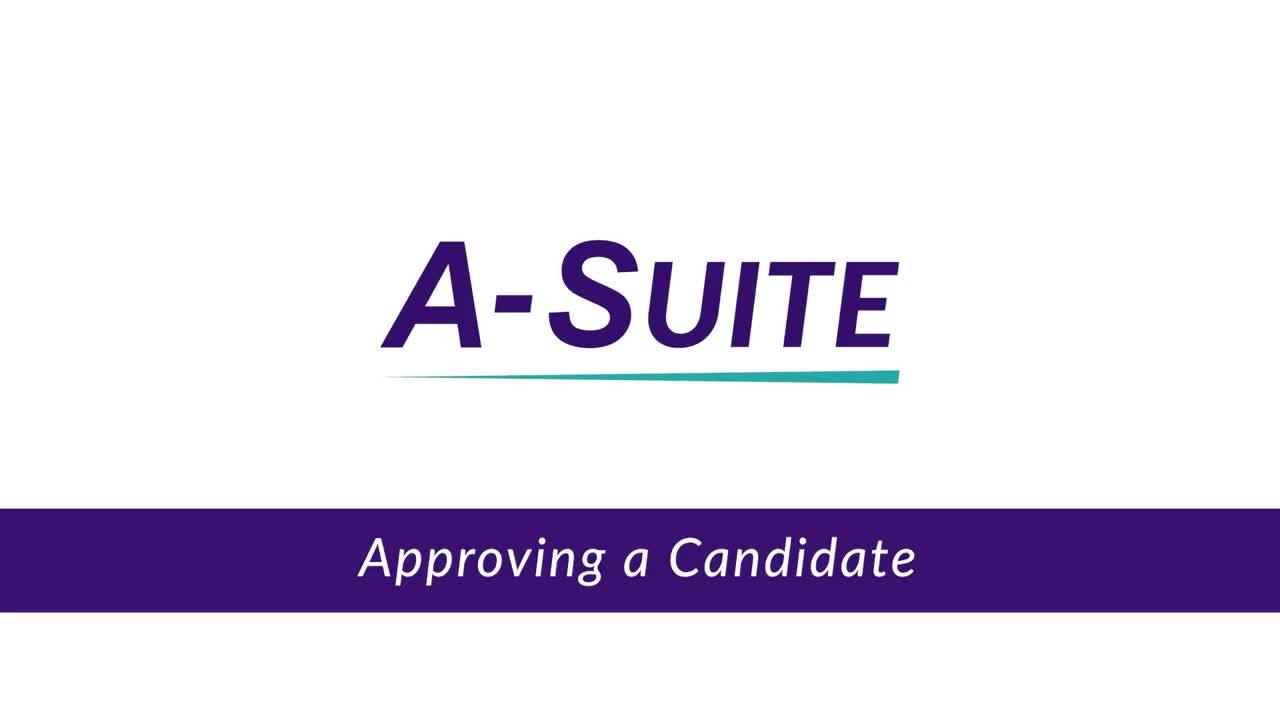 4.1_Approving a Candidate