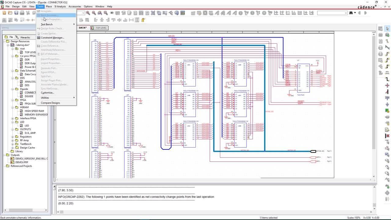 Constraint Driven Design - OrCAD