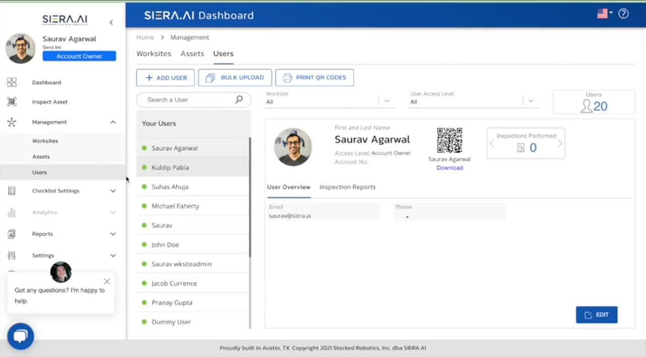 SIERA AI Dashboard Training Video