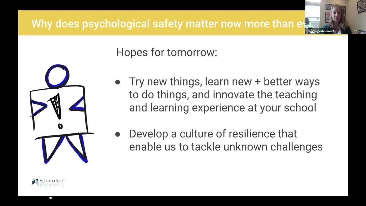 Psychological Safety Webinar