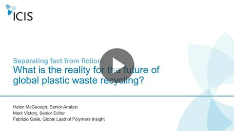 Separating fact from fiction: What is the reality of the future of plastic waste recycling