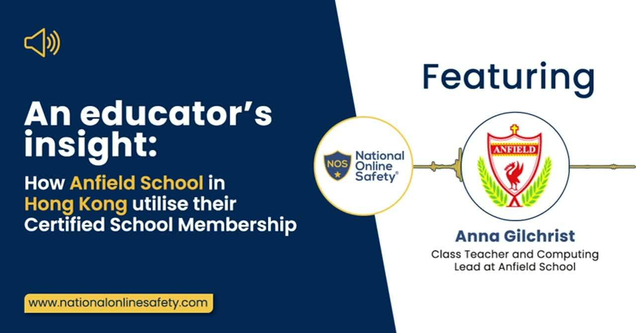 Anna Gilchrist - Anfield School - Tai Wai Campus (NOS Certified School) - Podcast (1) (1)