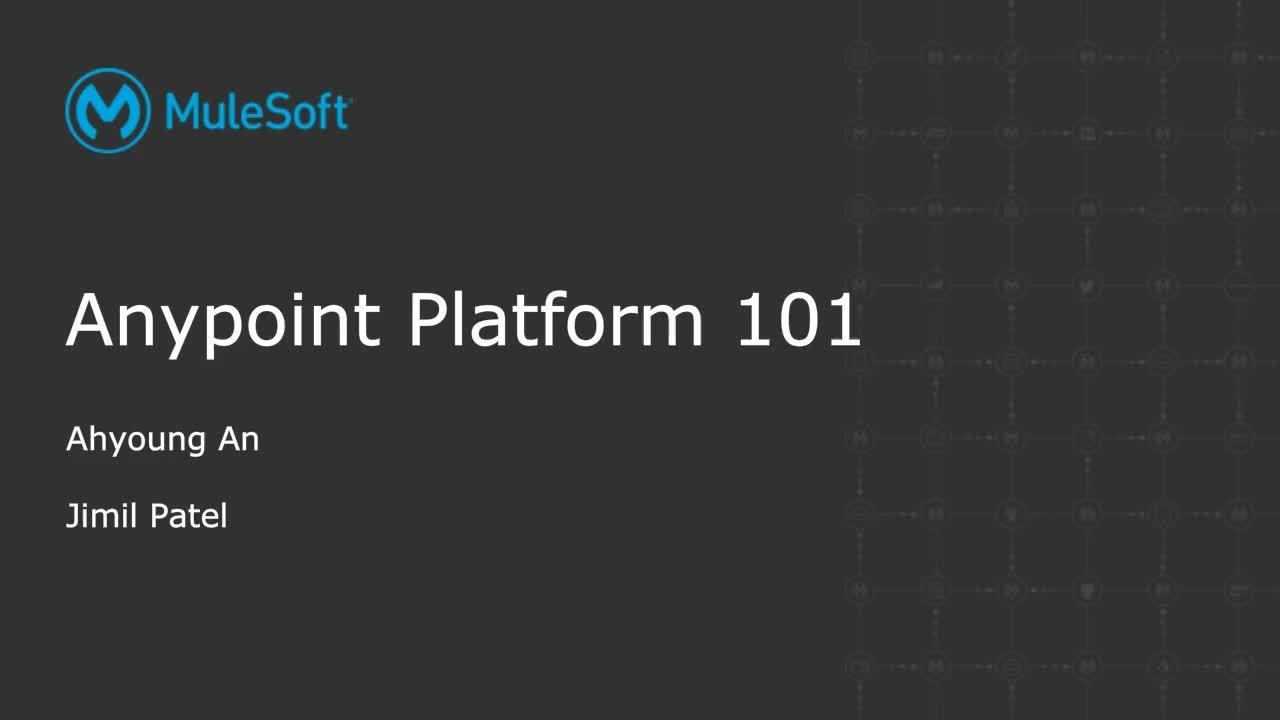 Webinar: Anypoint Platform 101: API-led integration basics