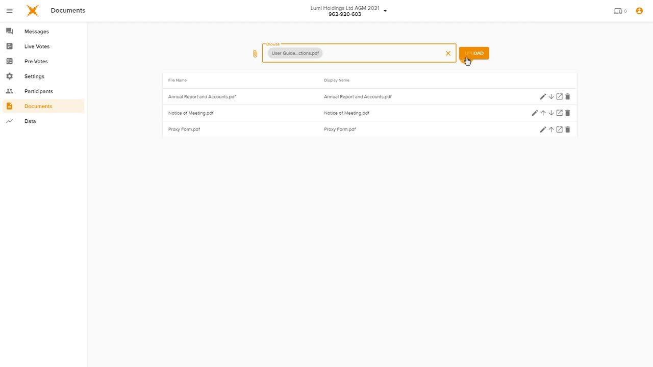 Lumi AGM Mobile - Documents
