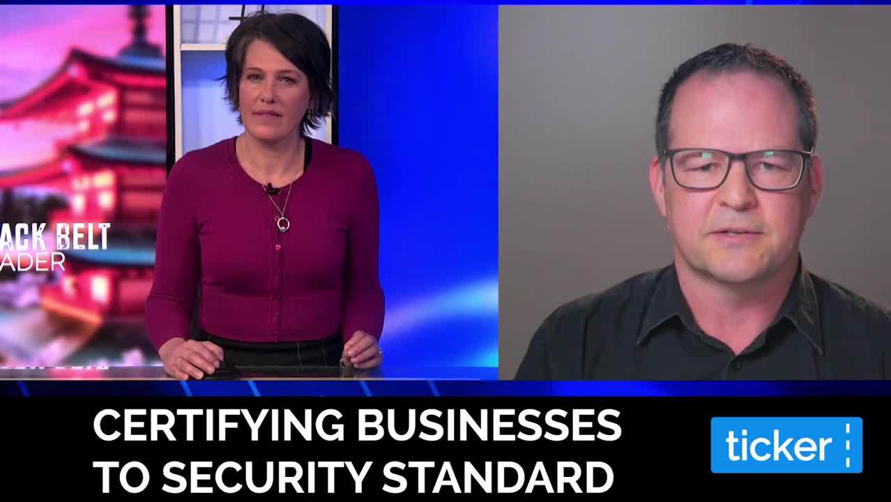 Certifying businesses to security standard - HD