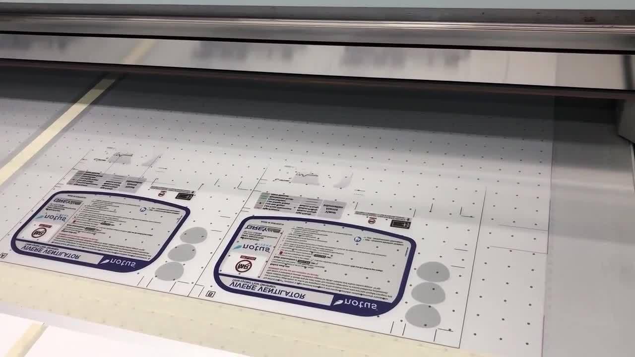 NOTUS Warning Label - Digital Printing
