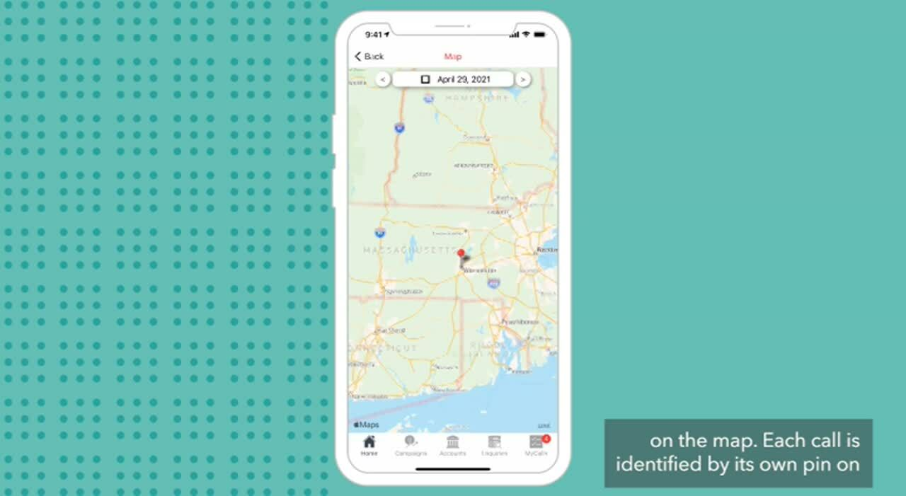 04 - Use Map to Plan Your Journey in sales-i - 02 Get off to a good start - DitL Apple iOS - VIDEO