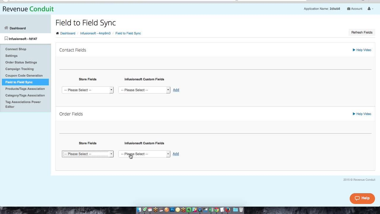 Infusionsoft RC Settings_ Field to Field Sync