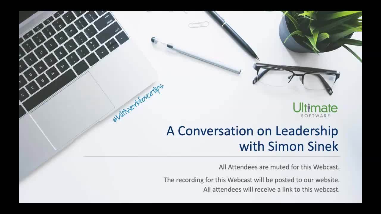 A Conversation on Leadership from Simon Sinek