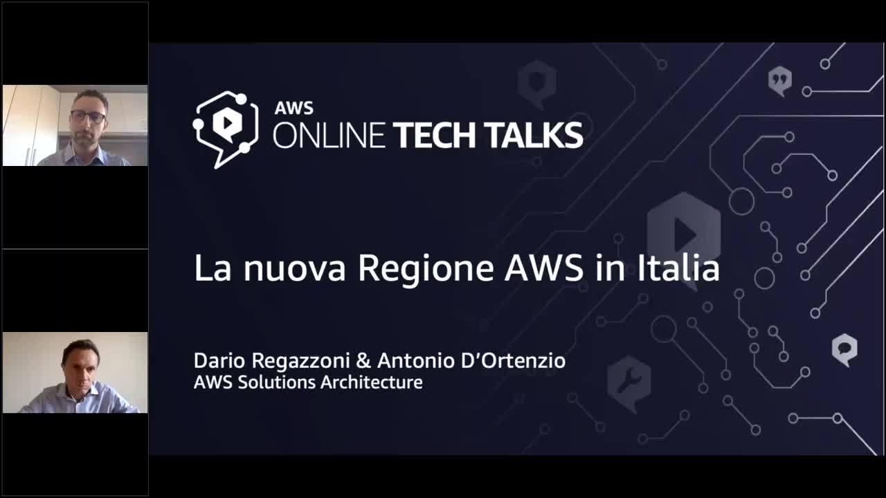 La nuova Regione AWS in Italia