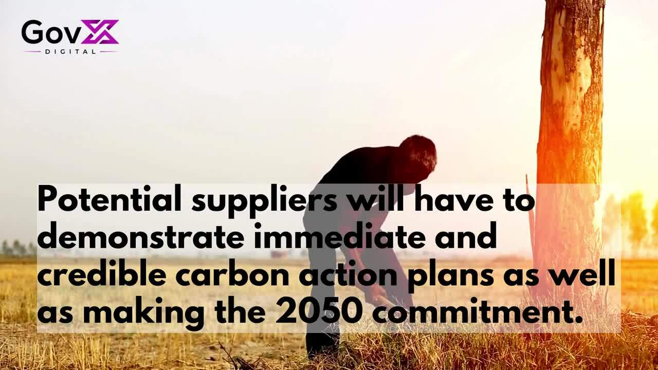 Article Government contract bidders required to make net-zero carbon pledge (7)