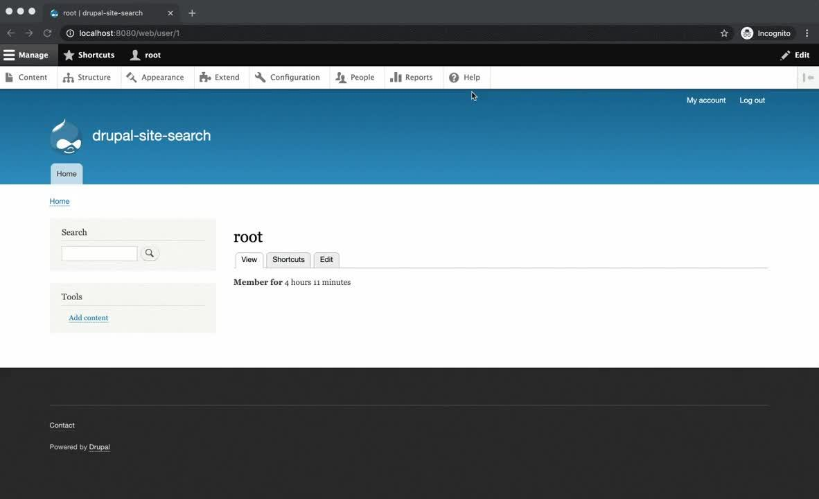 Configuring the Drupal and Solr 8 Search module
