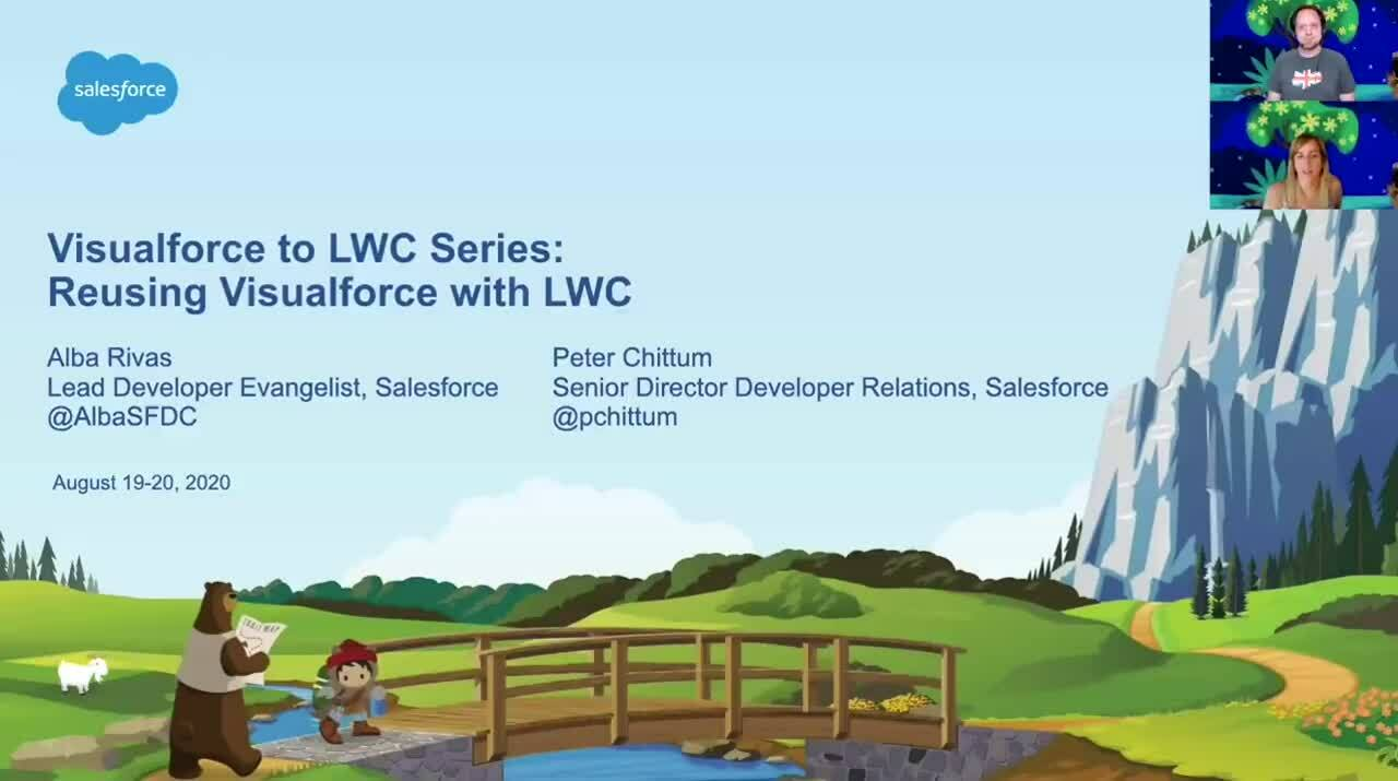 Video: Visualforce to LWC Series - Reusing Visualforce with LWC