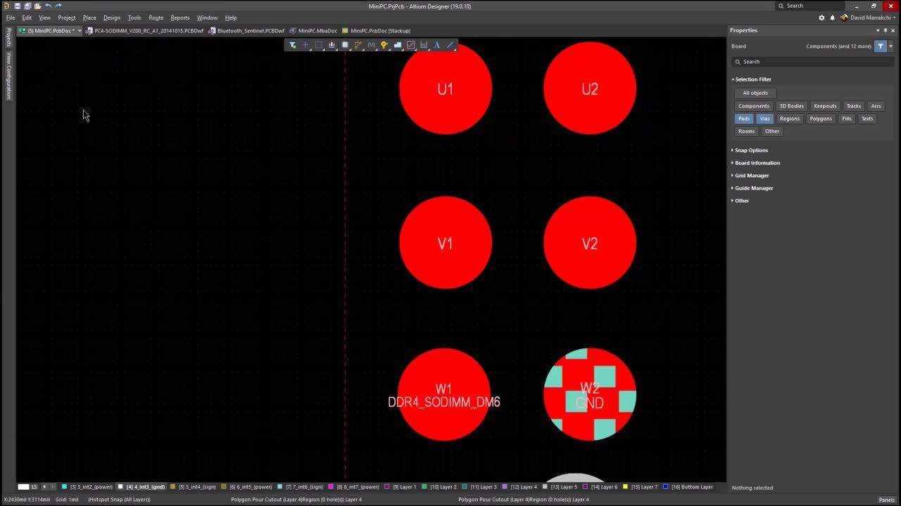 Video #2 - Defining and Using Micro Vias in Altium Designer - PADS Switch