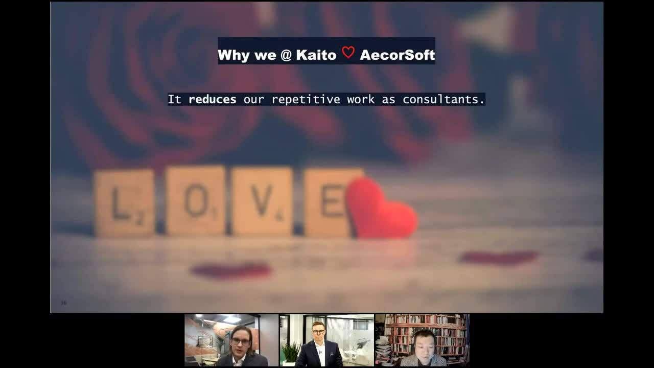 Kaito Webinar with Aecorsoft