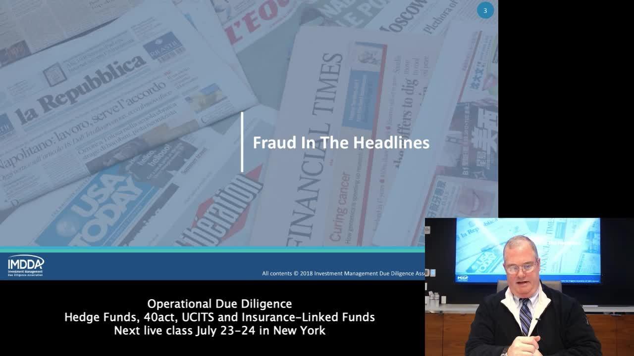 Fraud and ODD 720