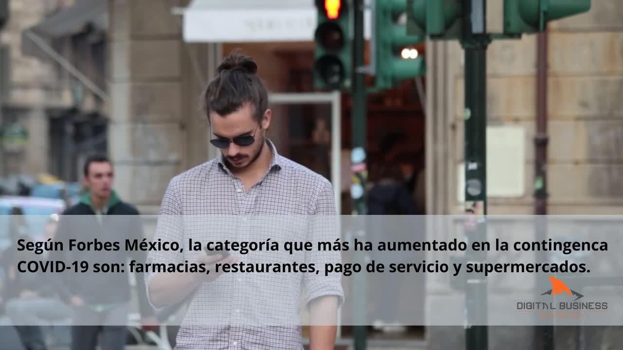 Según Forbes México, la categoría que más ha aumentado son_ farmacias, restaurantes, pago de servici