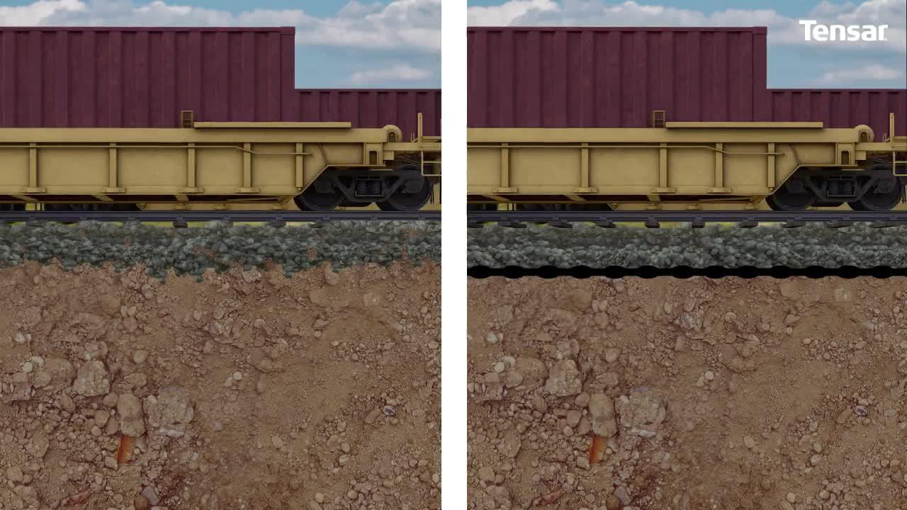 Tensar-TriAx-Geogrid-Railway-Trackbed-Stabilization