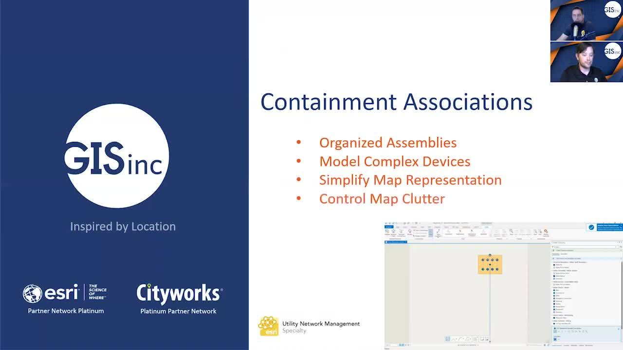 ArcGIS Utility Network Management - Containment Associations