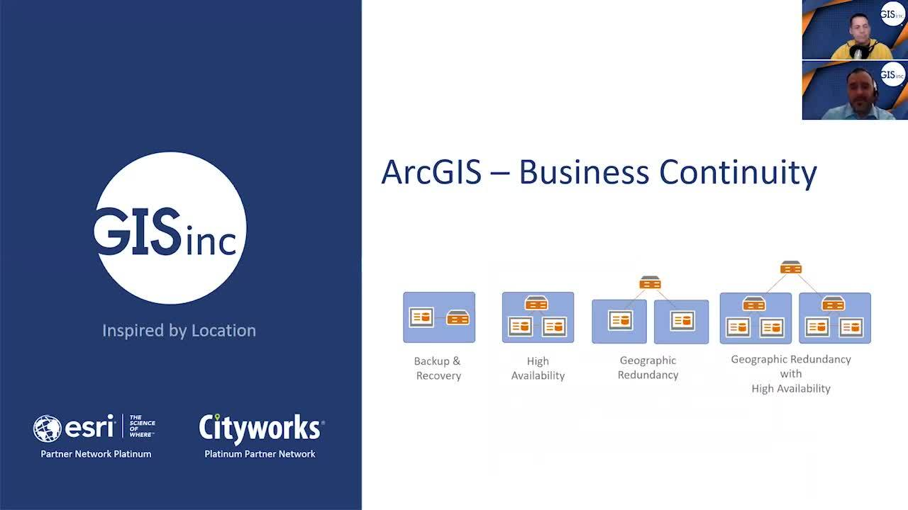 ArcGIS Enterprise - Cloud Business Continuity