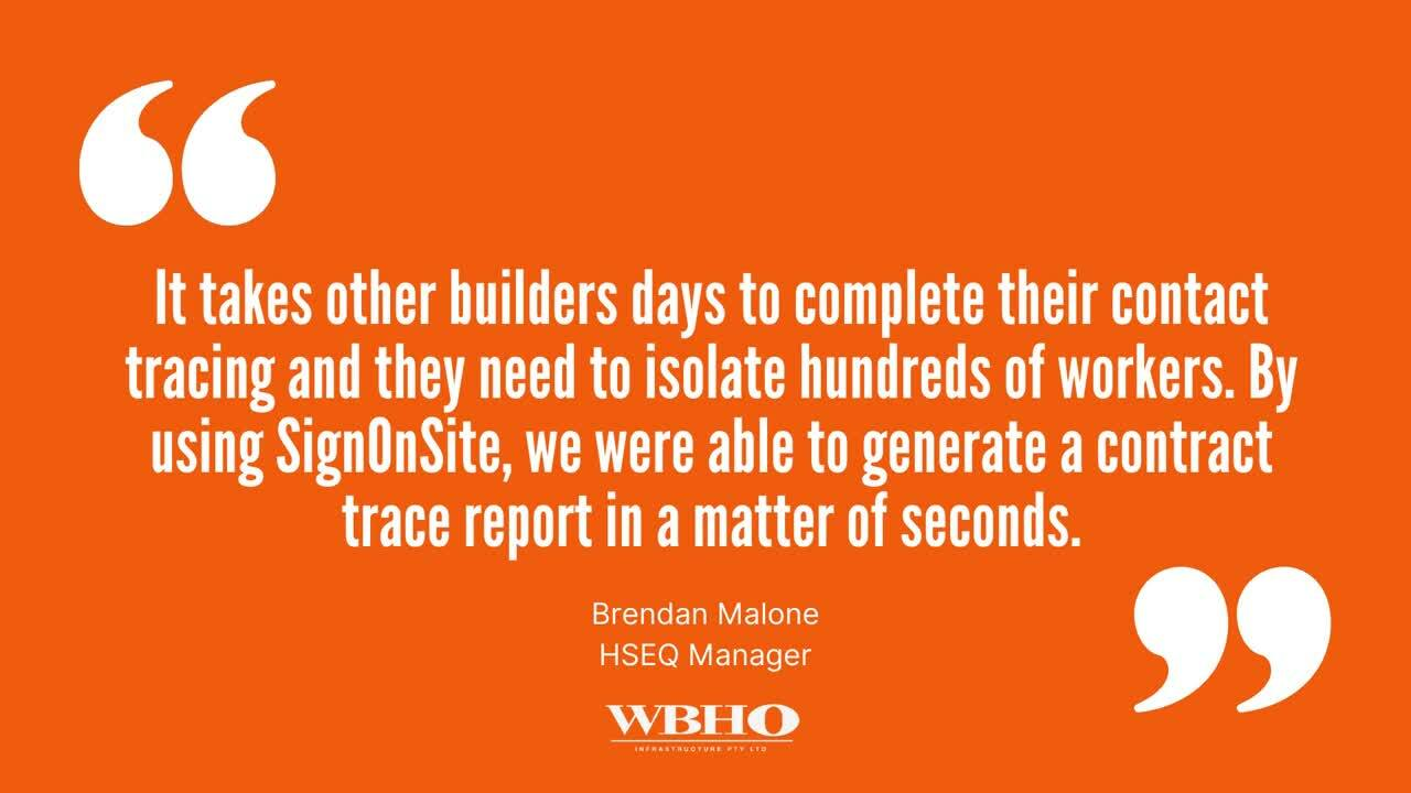 FY22Q1 5 Ways Builders are using SignOnSite for COVID Management