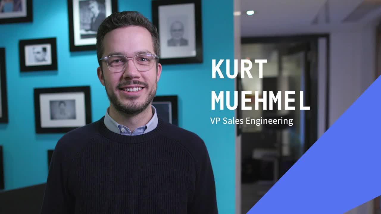 Kurt Muehmel VP Sales Engineering