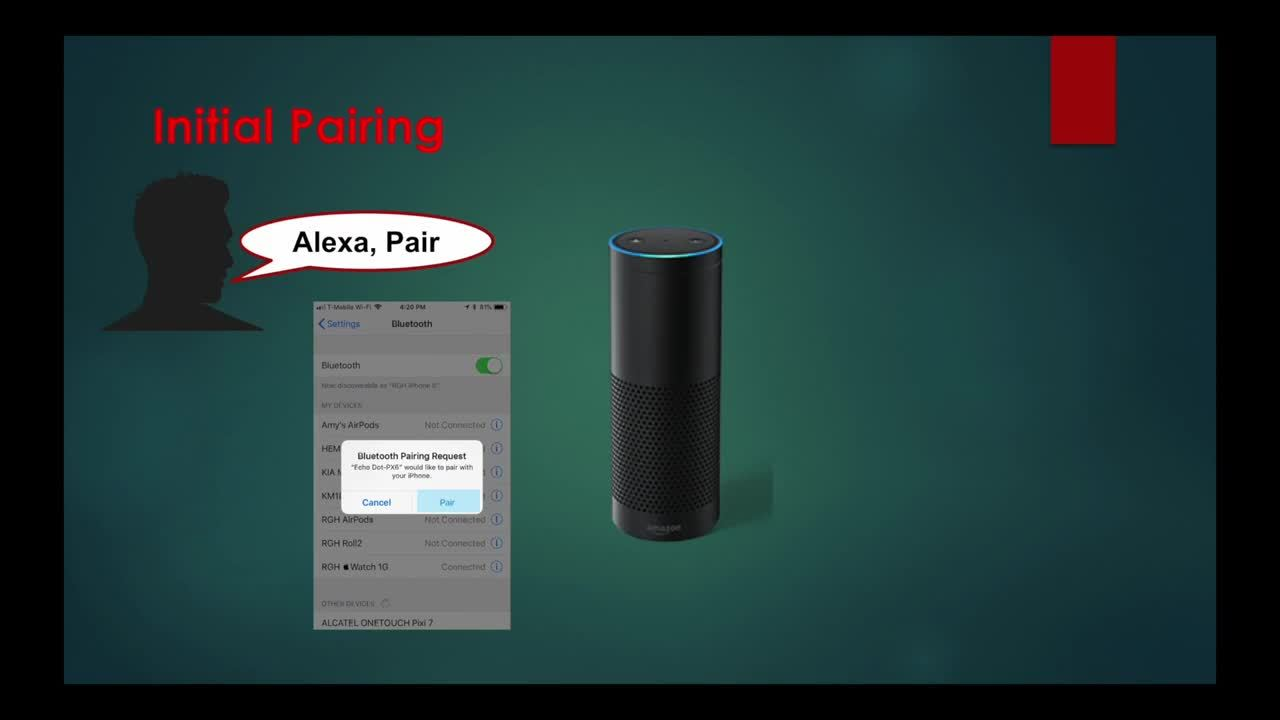 Connecting an iPhone to an Alexa