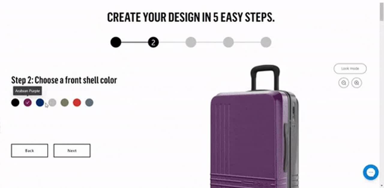 Roam suitcase customizer-2