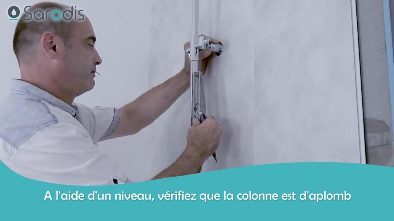 Comment installer facilement une colonne de douche