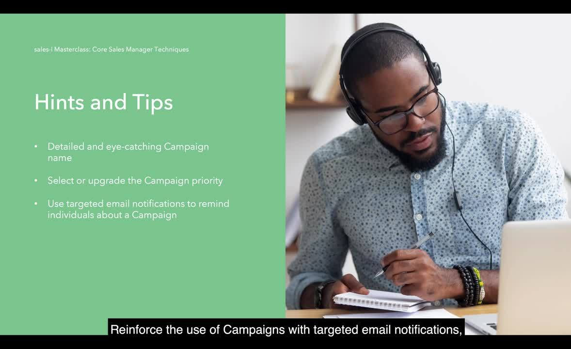4.3 Common reasons for underutilization of Campaigns