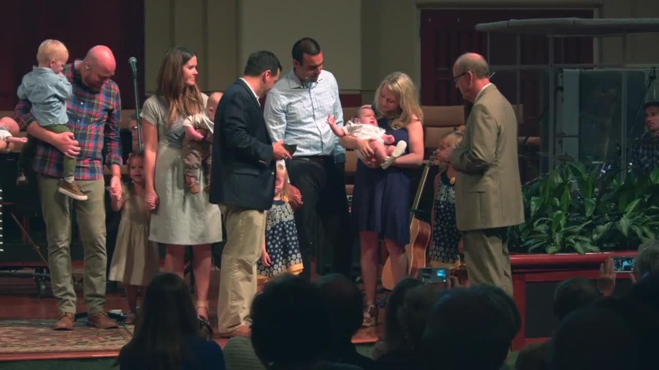 Celebration of Baptisms May 17