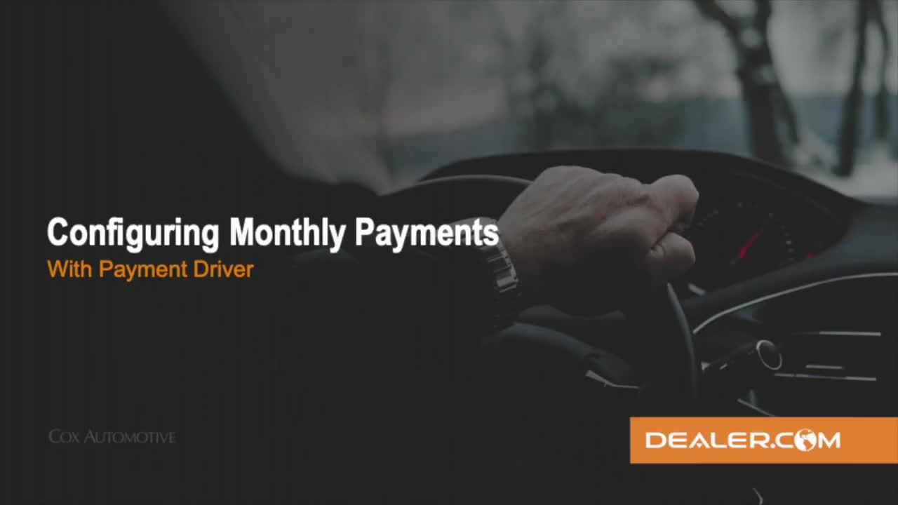 Configuring Payments with DR