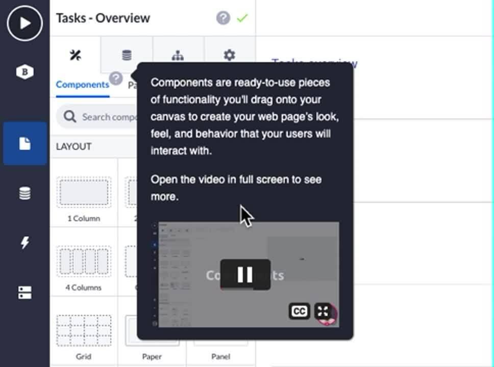 Page Builder helper mode video