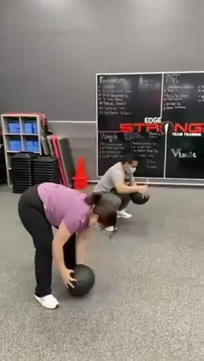 Husband and Wife Train Together