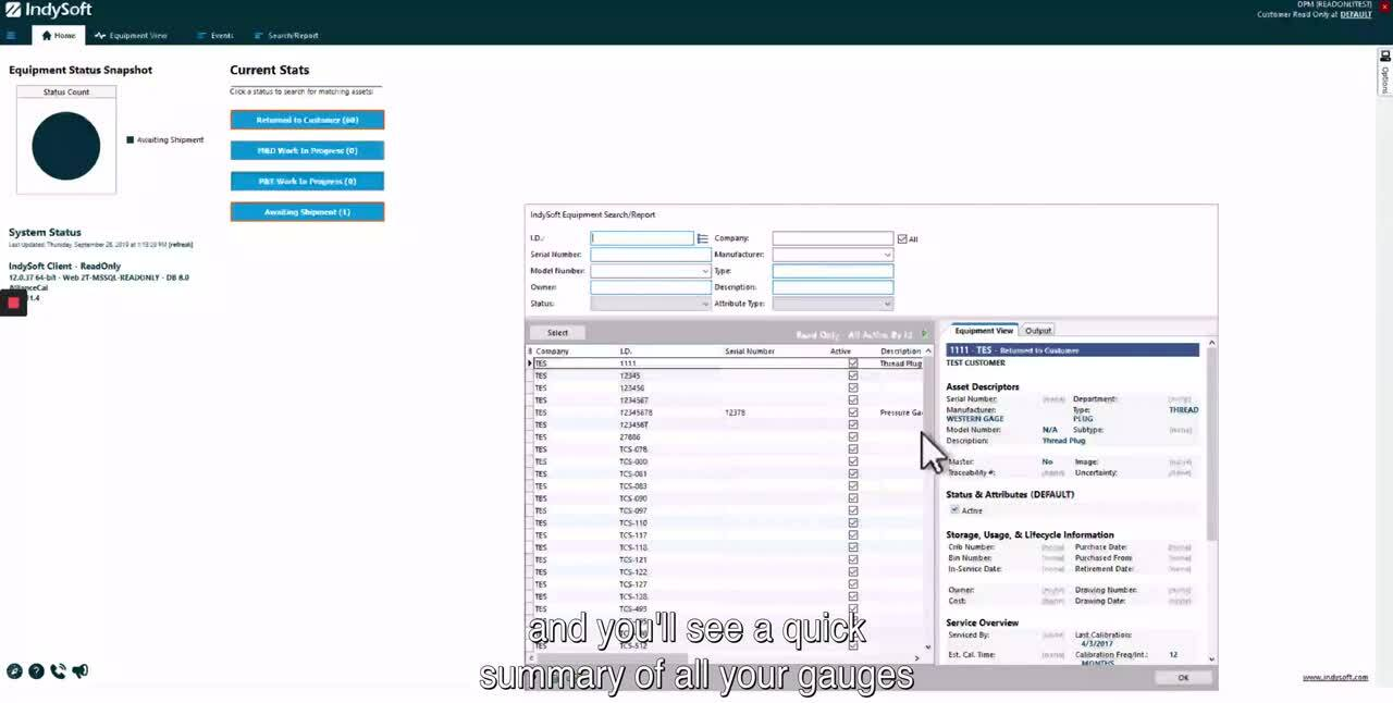 How To Navigate IndySoft _ Alliance Calibration_ with subtitles