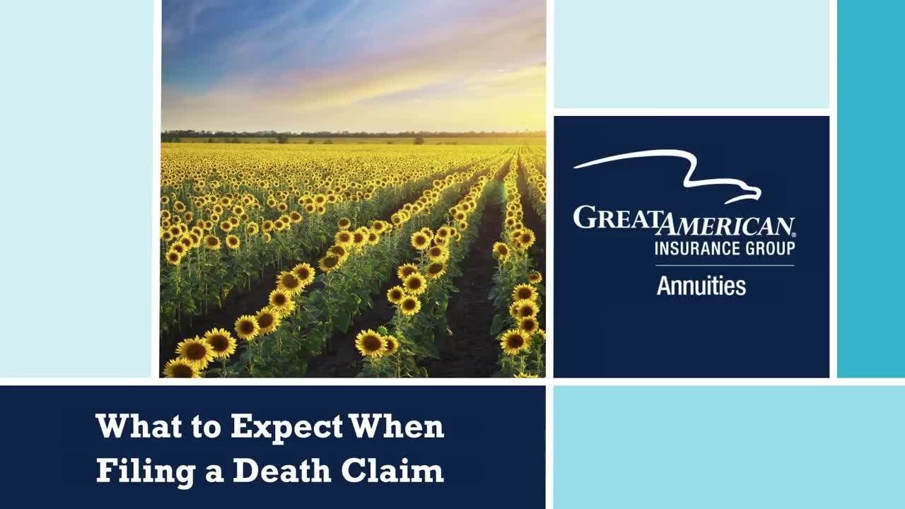 What To Expect When Filing a Death Claim video