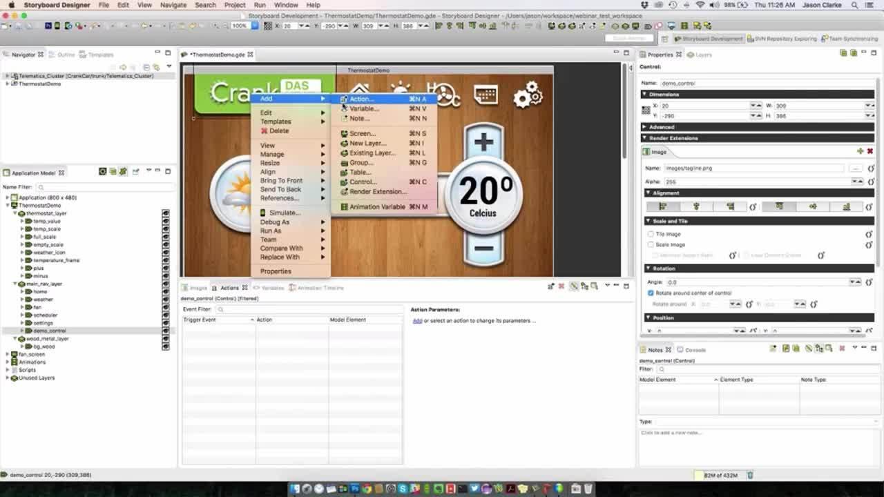 Webinar Creating Engaging GUIs with Storyboard Suite