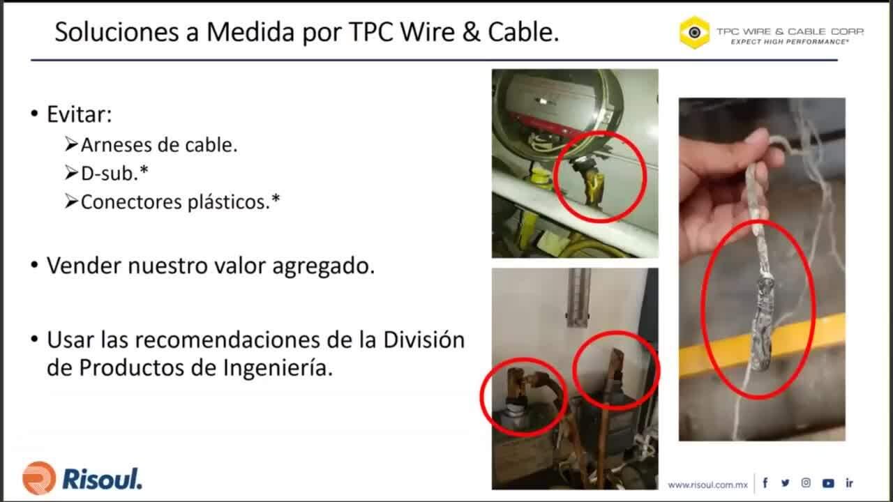 87 Soluciones de cableado para ambientes y aplicaciones exigentes y fabricaciones a medida por TPC W