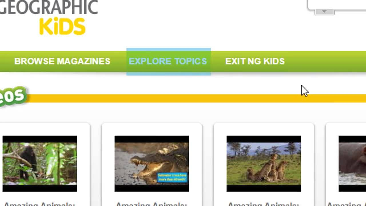 National Geographic Kids - Rock Your Projects Thumbnail
