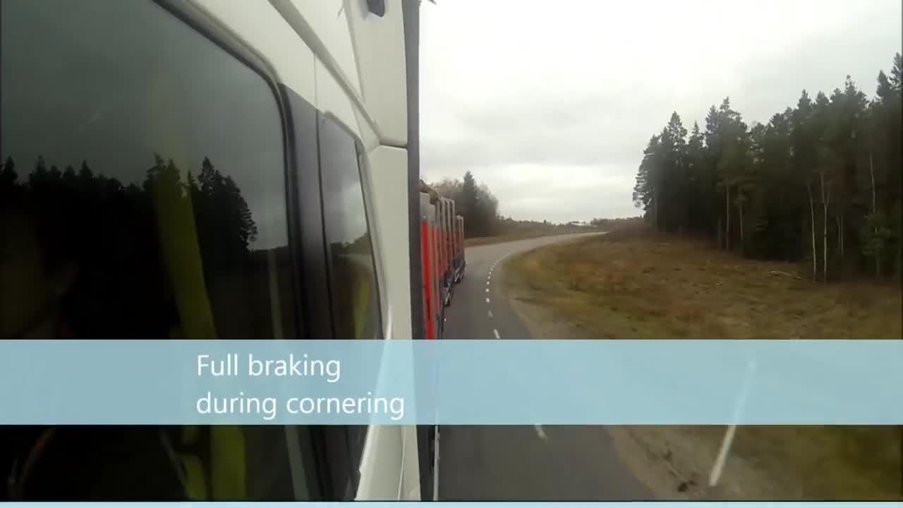 Volvo HCT - estabilidade com o engate