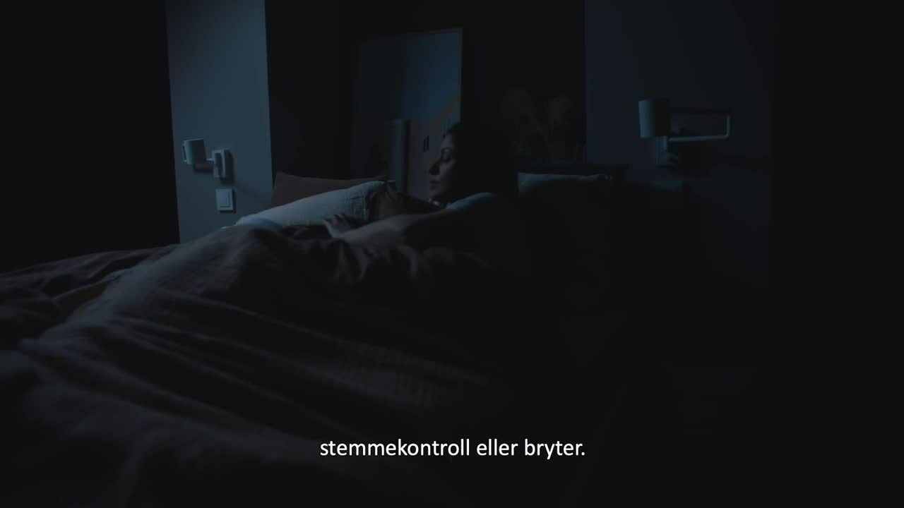 ELKO Smart - Nattmodus med scenariebryter