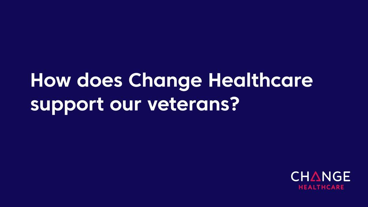 Veteran Support at Change Healthcare