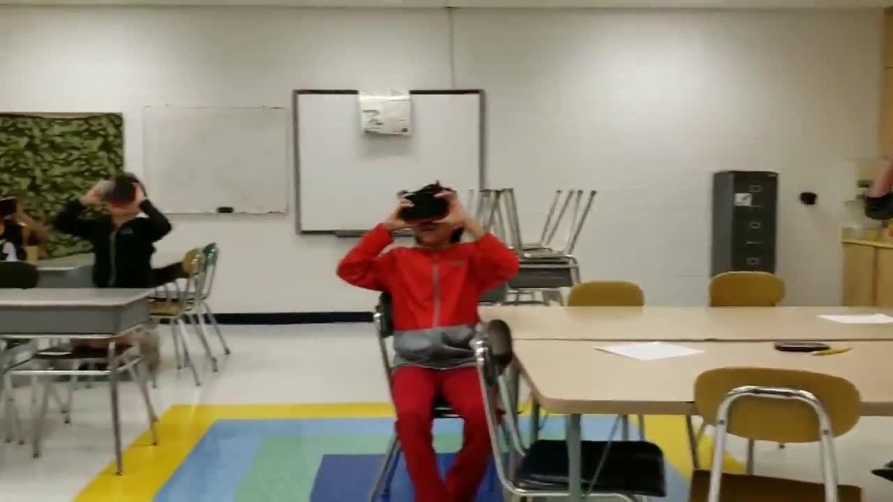 VR 4th Graders