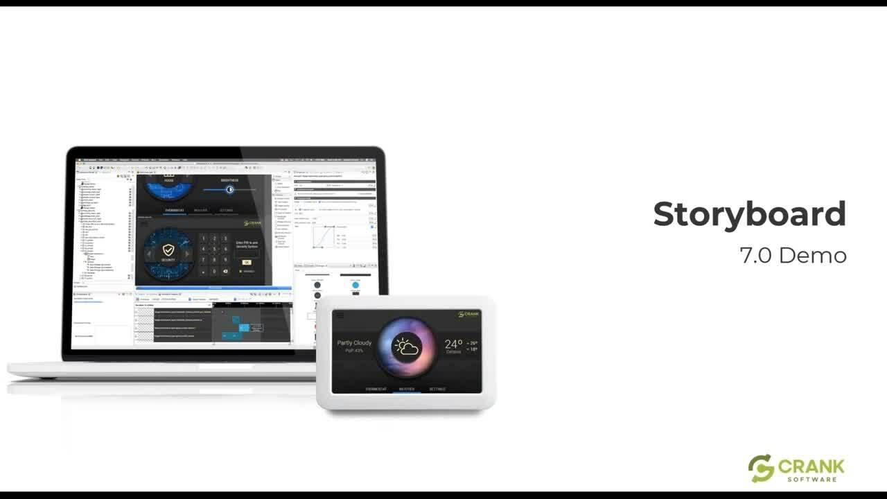 Powering Sophisticated GUI Development with Storyboard 7 Launch Webinar