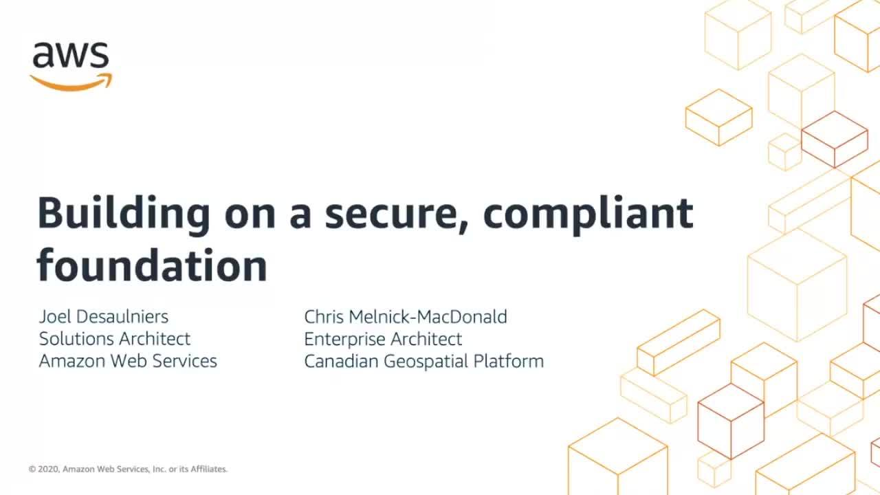 Canada Compliance Week: Building on a secure, compliant foundation